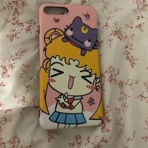 iPhone 8 Plus Sailor Moon Case